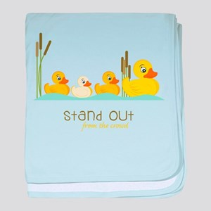 Stand Out baby blanket