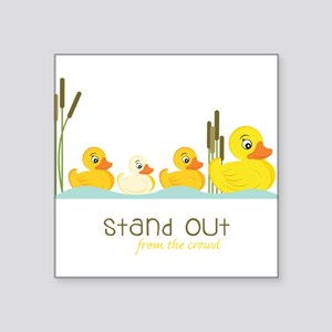 "Stand Out Square Sticker 3"" x 3"""