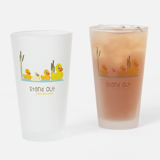Stand Out Drinking Glass