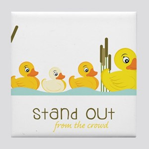 Stand Out Tile Coaster