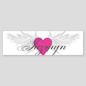 My Sweet Angel Jazmyn Sticker (Bumper)