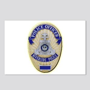 Riverside Police Officer Postcards (Package of 8)