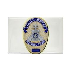 Riverside Police Officer Rectangle Magnet (100 pac