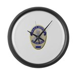 Riverside Police Officer Large Wall Clock