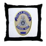 Riverside Police Officer Throw Pillow