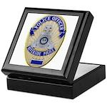 Riverside Police Officer Keepsake Box