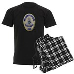Riverside Police Officer Men's Dark Pajamas