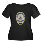 Riverside Police Officer Women's Plus Size Scoop N