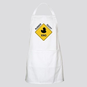Rubber Ducky Xing Apron