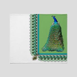 Pop-Peacock Throw