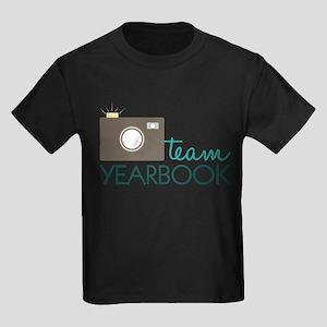 Team Yearbook Kids Dark T-Shirt