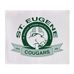St. Eugene School Throw Blanket
