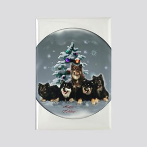Finnish Lapphund Christ Rectangle Magnet (10 pack)