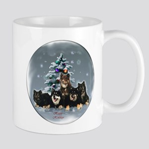 Finnish Lapphund Christmas 11 oz Ceramic Mug