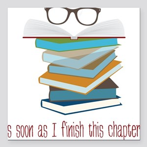 """This Chapter Square Car Magnet 3"""" x 3"""""""