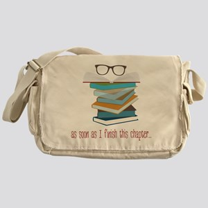 This Chapter Messenger Bag