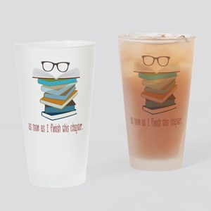 This Chapter Drinking Glass