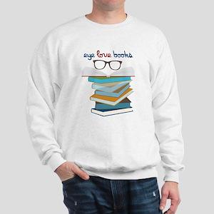 Eye Love Books Sweatshirt