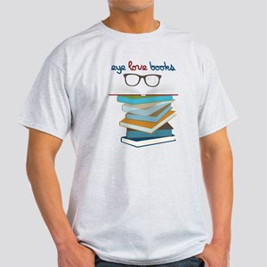 Eye Love Books Light T-Shirt