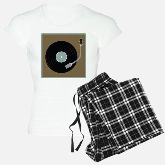 Record Player Pajamas