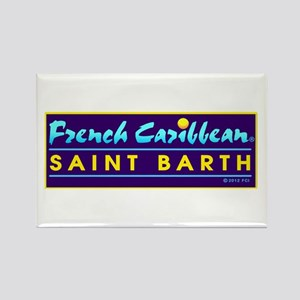 St. Barth Rectangle Magnet
