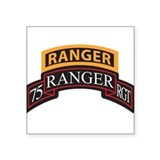 75 ranger regiment scroll Square
