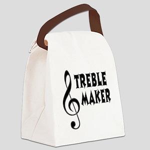 Treble Maker Canvas Lunch Bag