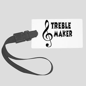 Treble Maker Large Luggage Tag
