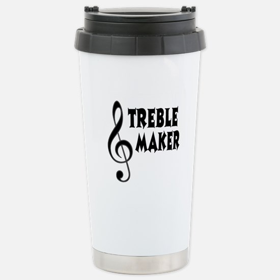 Treble Maker Stainless Steel Travel Mug