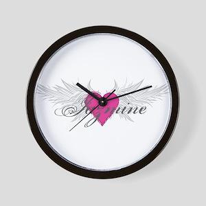 My Sweet Angel Jazmine Wall Clock