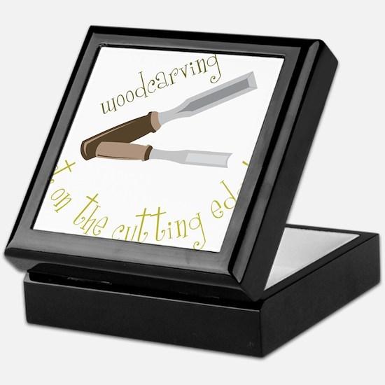 Woodcarving Keepsake Box
