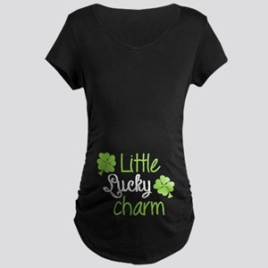 Little lucky charm Maternity Dark T-Shirt