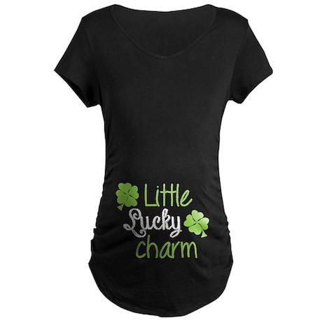 Little lucky charm Maternity Dark T-Shirt