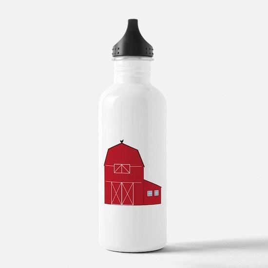 Red Barn Water Bottle