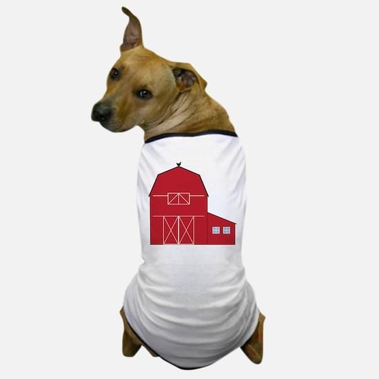 Red Barn Dog T-Shirt