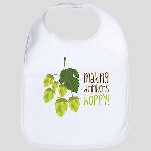 Making Drinkers Hoppy Bib