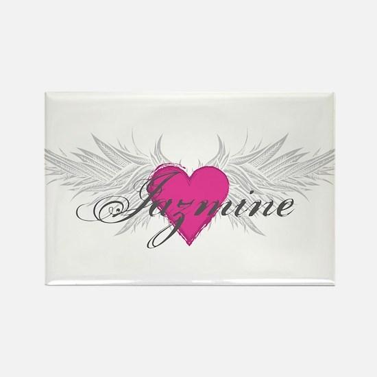 My Sweet Angel Jazmine Rectangle Magnet