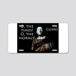 O The Times - Cicero Aluminum License Plate