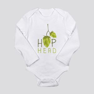 Hop Head Long Sleeve Infant Bodysuit
