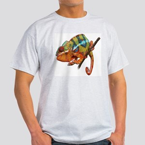Panther Chameleon on stick Light T-Shirt