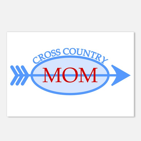 Cross Country Mom Train to Watch Postcards (Packag