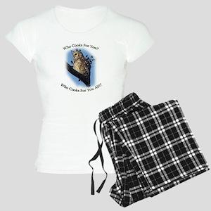 Barred Owl Women's Light Pajamas