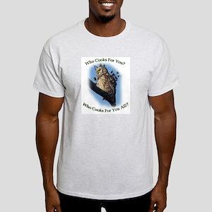 Barred Owl Light T-Shirt