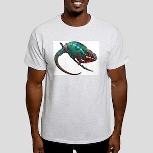 Beautiful Chameleon on Vine Light T-Shirt
