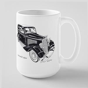 '34 Ford Tudor Large Mug