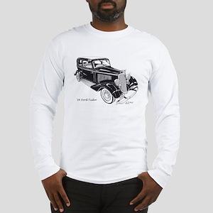 '34 Ford Tudor Long Sleeve T-Shirt