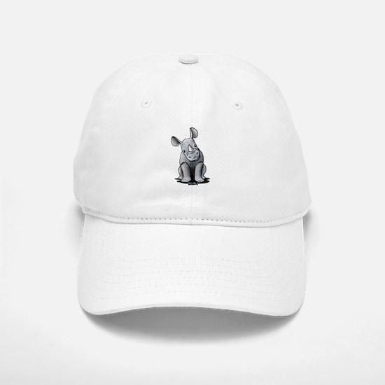 Cute Rhino Baseball Baseball Cap