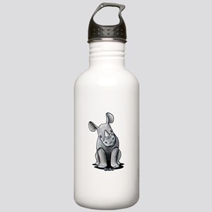 Cute Rhino Stainless Water Bottle 1.0L