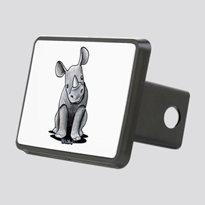 Cute Rhino Rectangular Hitch Cover
