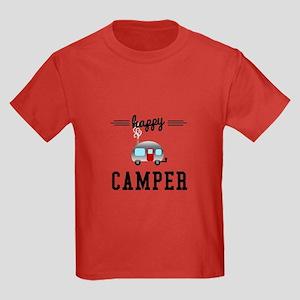 Happy Camper Kids Dark T-Shirt